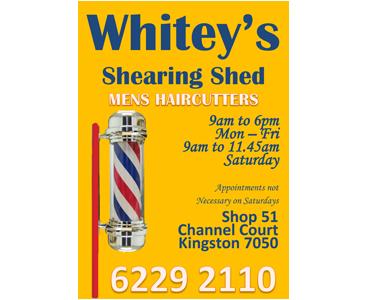 Whitey's Shearing Shed