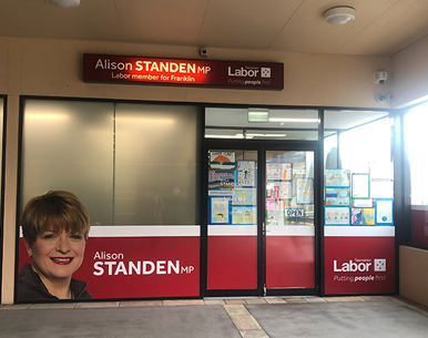 Labour Office of Alison Standen MP