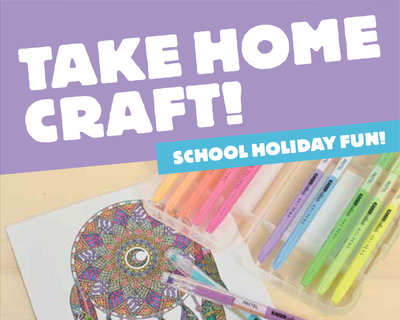 School Holiday Craft Packs!