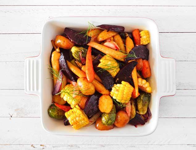 Food safety tips for leftover veggies