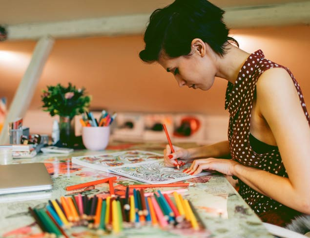 Can you colour your way to a more mindful life?