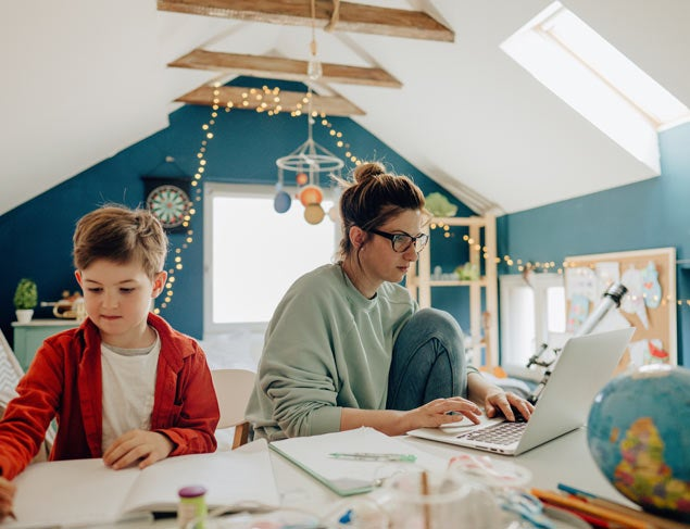 9 tips for mums and dads working from home