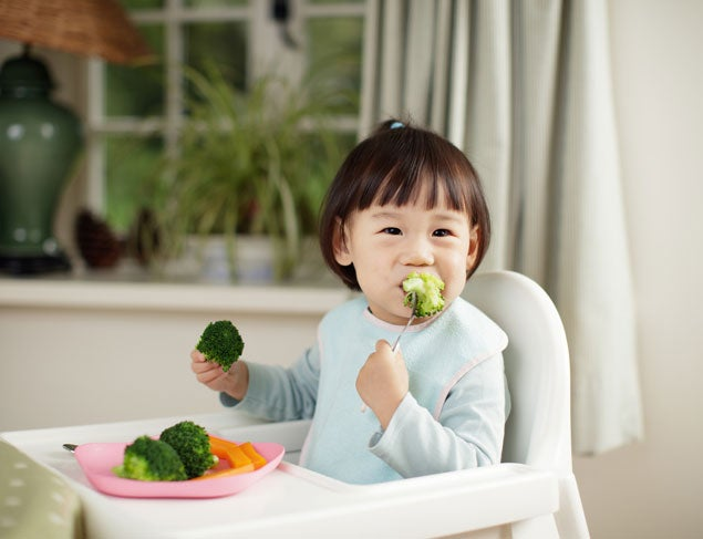How to get more veggies in your toddler's diet