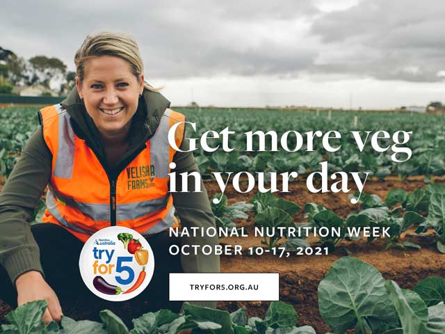 Nutrition Australia Get more veg in your day