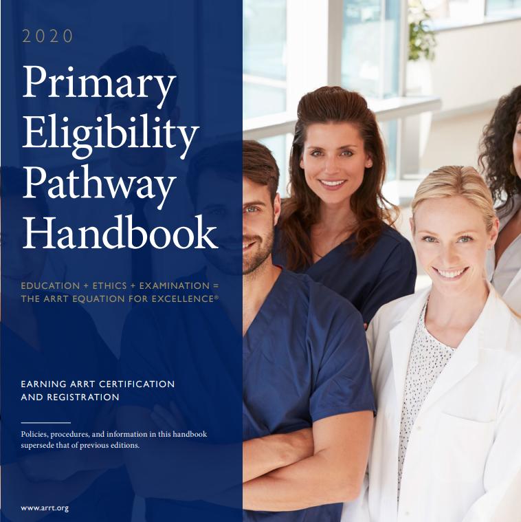 2020 Primary Eligibility Pathway Handbook Cover