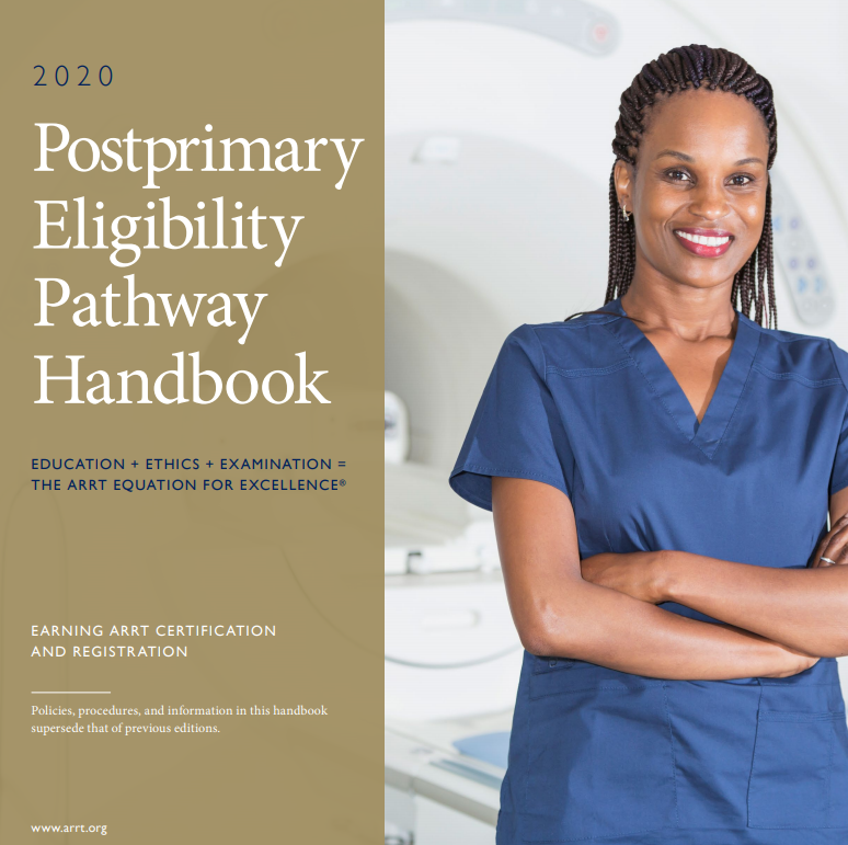 2020 Postprimary Eligibility Pathway Handbook Cover