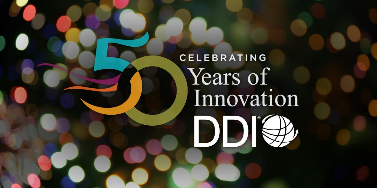 10 Insights from 50 Years of Innovation, Leadership Development, DDI History