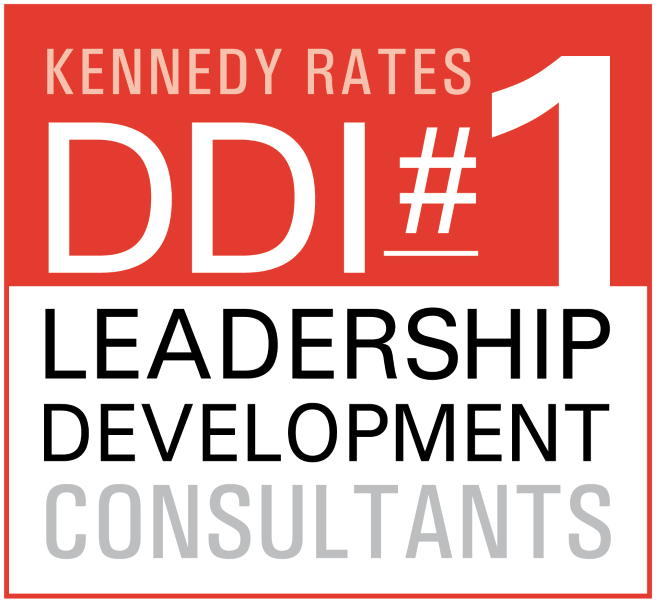 Logo listing DDI as #1 leadership development consultant as awarded by Kennedy Consulting Research and Advisory?auto=format&q=75