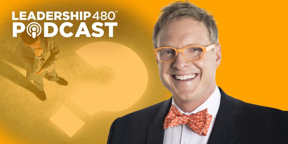 Stop trying to get everyone to think you're an expert. You have to become a visionary. Andrew Davis chats with us about the importance of leaders focusing on big un-Googleable questions. (Episode 12)