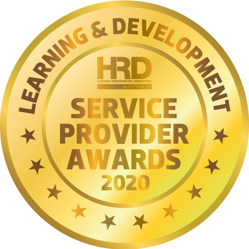 "Gold medal for DDI's award from  ""Human Resources Director Australia"" Service provider Awards 2020 for Learning & Development?auto=format&q=75"