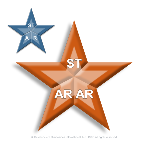 model of the STAR method comparing two star shapes, one with STAR spelled out on it and the other with star 'a' 'r' spelled on it?auto=format&q=75