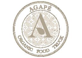 Agapé Organic Food Truck  logo