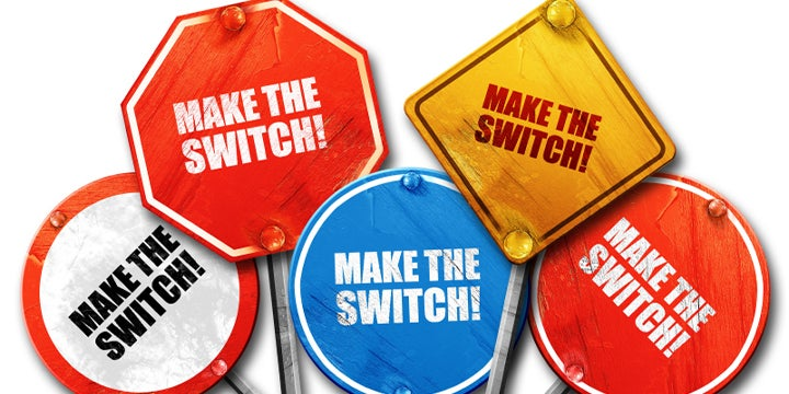 make the switch signs