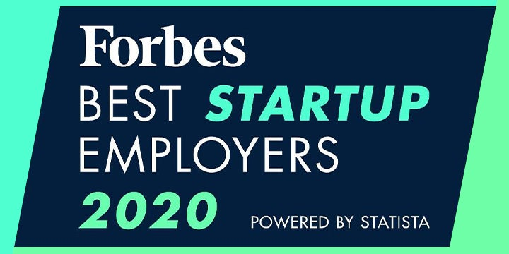 forbes best startup graphic