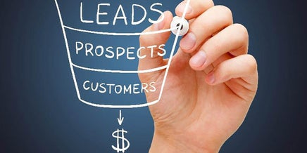 leads prospects customer graphic