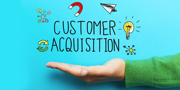 customer acquisition graphic