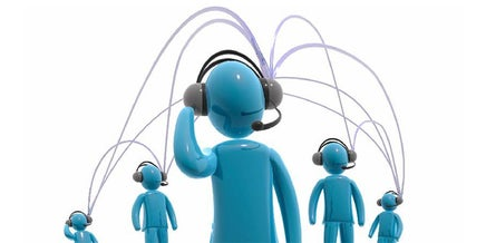 graphic of dolls with headsets