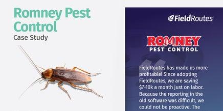snapshot of romney pest case study