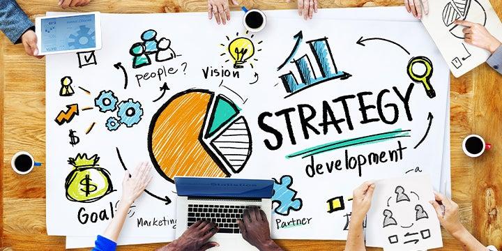 a strategic plan drawn out