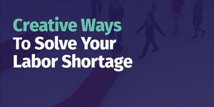 snapshot of creative ways to solve shortage pdf