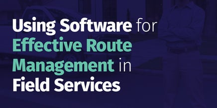 snapshot of using software for route management pdf
