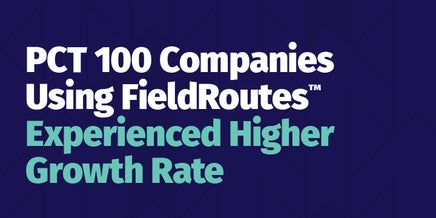snapshot of pct 100 companies using fieldroutes