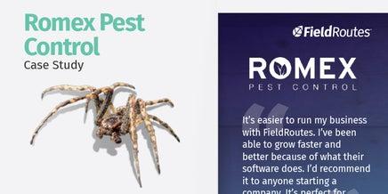 snapshot of romex pest case study