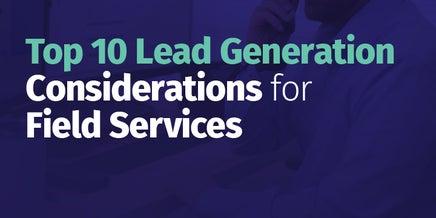 snapshot of top ten lead generation eguide