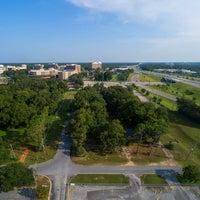 Overhead pan of future Baptist Hospital Campus