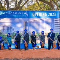 New Health Campus Groundbreaking event