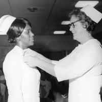 Nurse pinning.