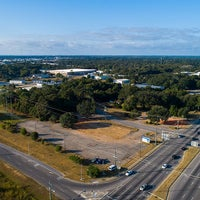 Drone photo future location of new Baptist Hospital Campus