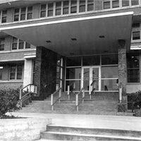 Baptist Hospital main entrance.