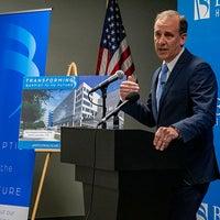 Mark Faulkner President and CEO Baptist Health Care announces new Baptist Hospital