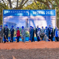 Groundbreaking of new health campus