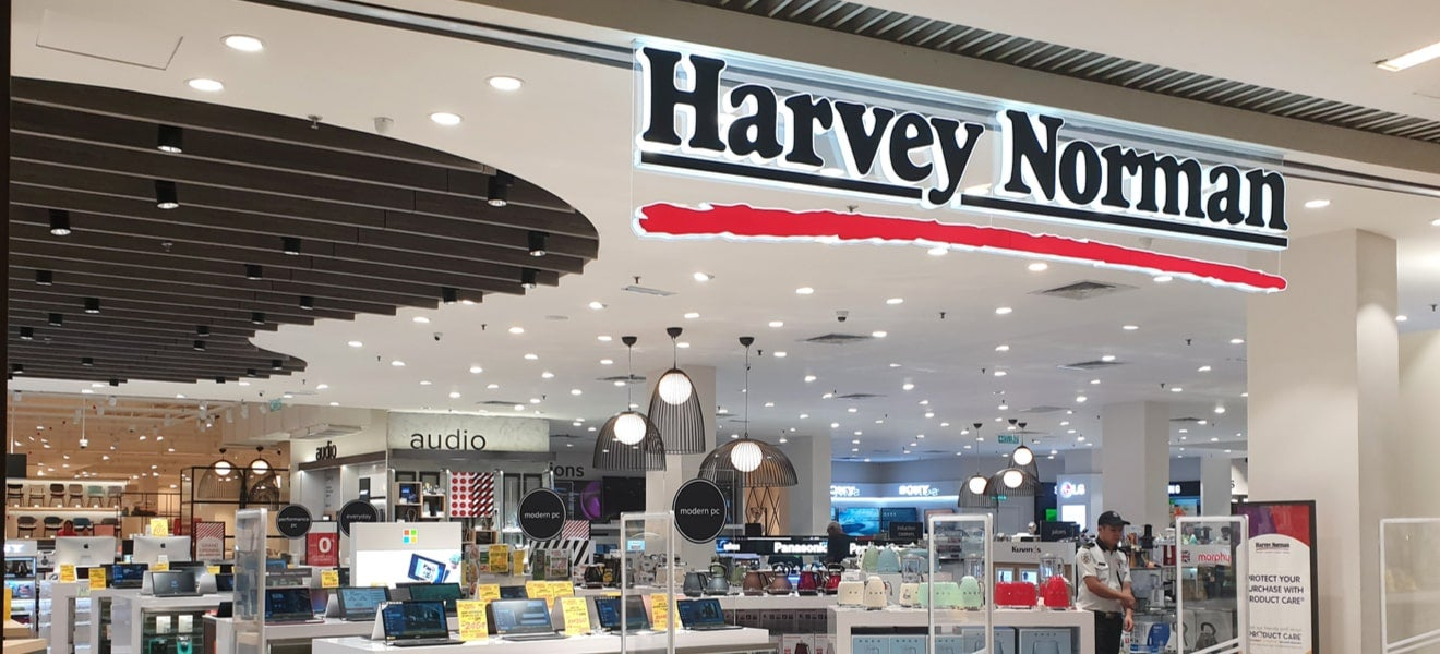 Harvey Norman strategy