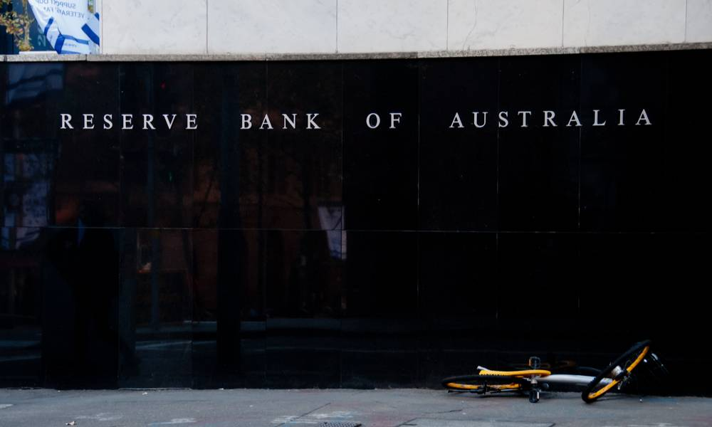 Reserve Bank of Australia building name on black stone wall in the center of Sydney NSW Australia.jpg