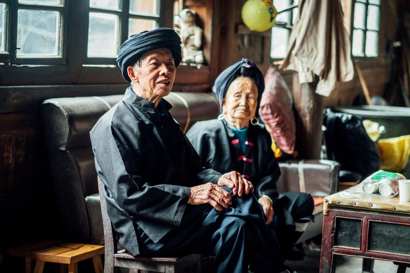 Aged China