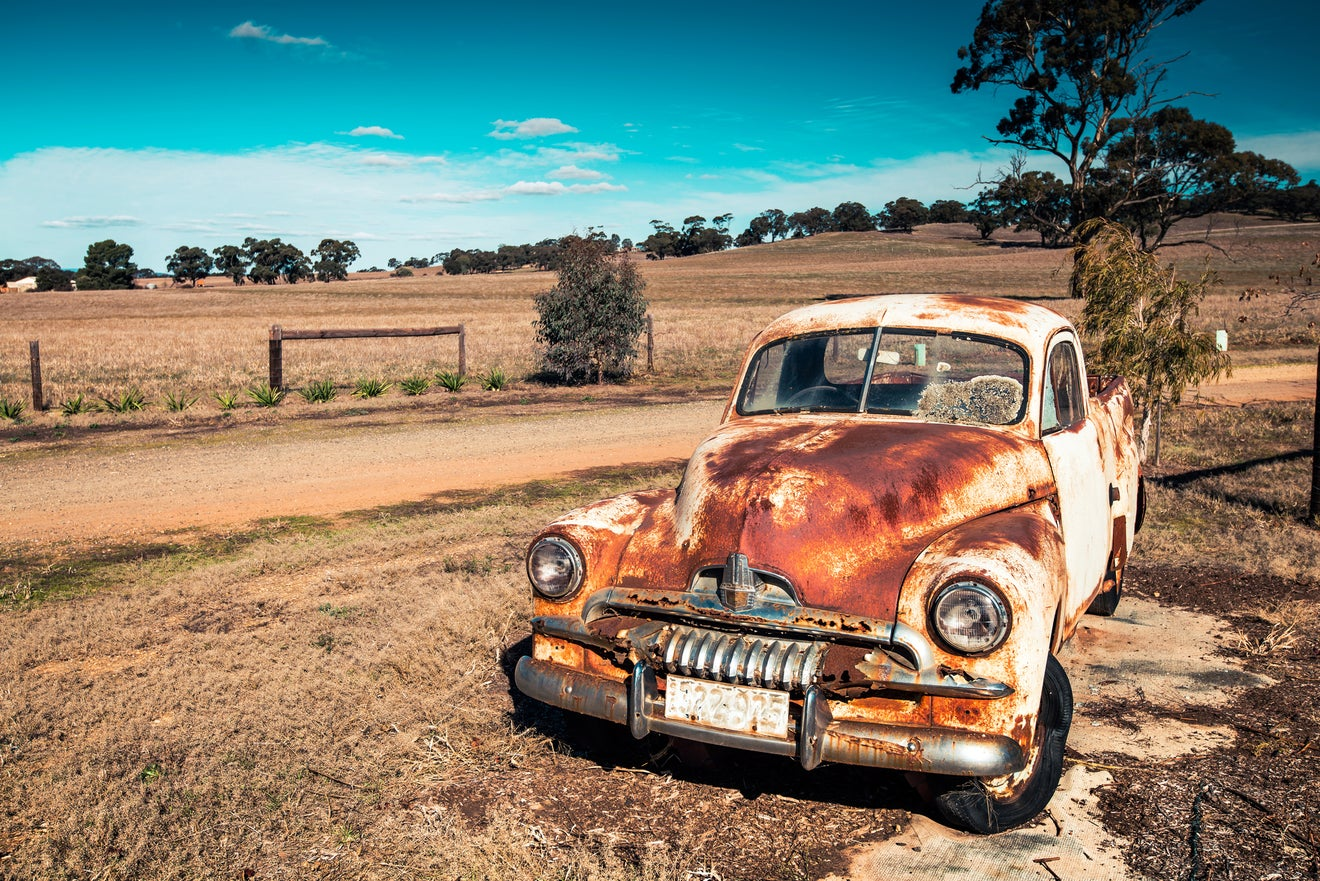 Rusty Holden FJ Ute