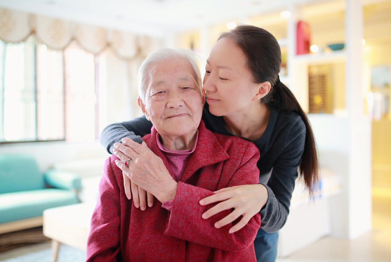 China ageing