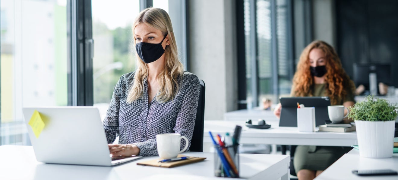 Working from the office or home? 5 air quality tips to reduce COVID risks