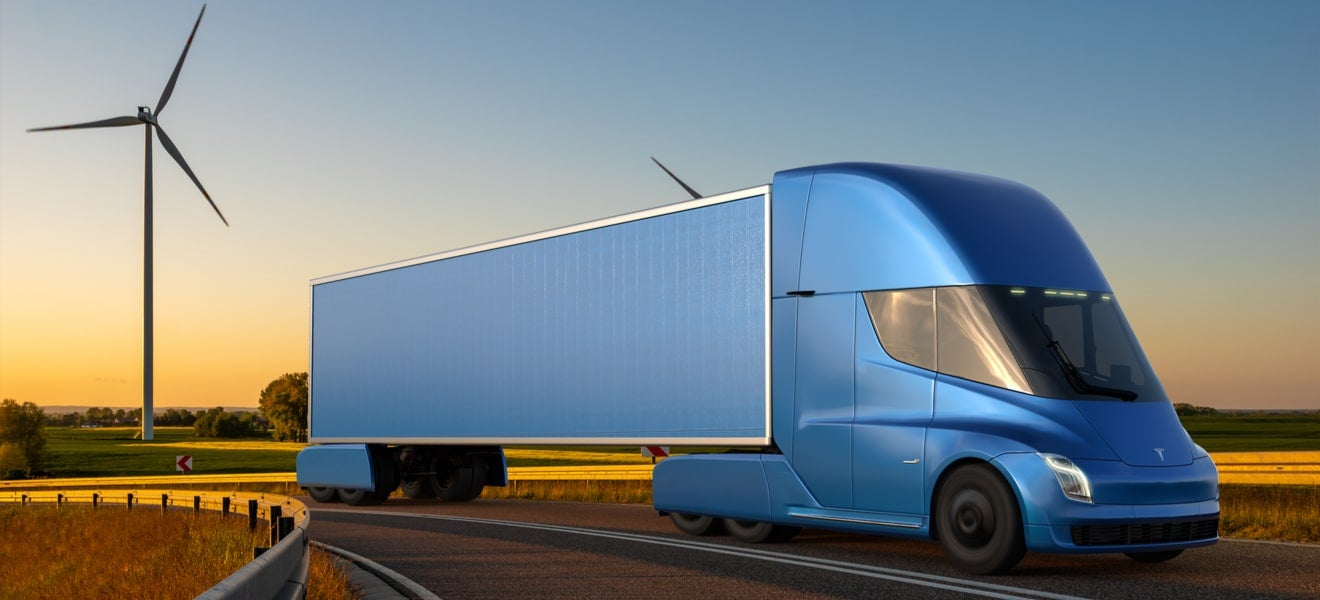 Electric trucks are curbing transport emissions – but passenger vehicles might take a little longer