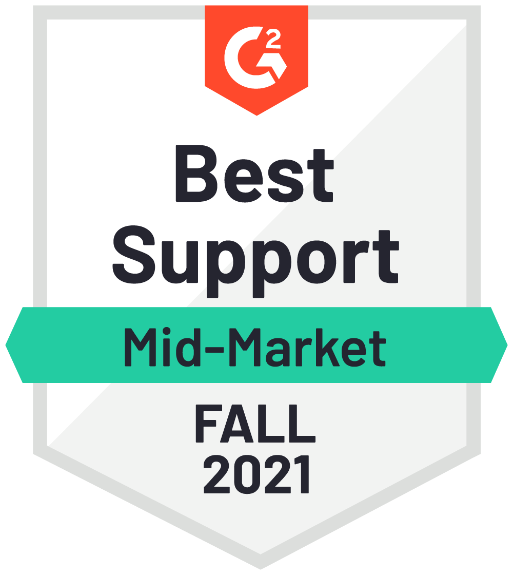 Best Support Fall 2021 Badge