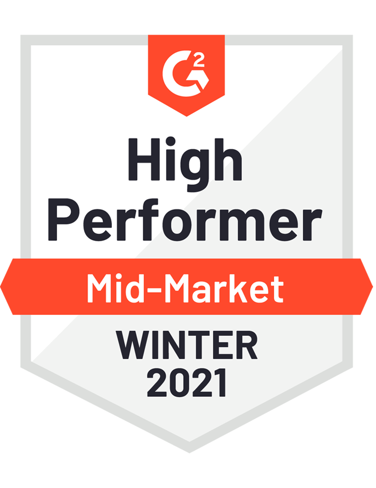 High Performer Winter 2021 WCM