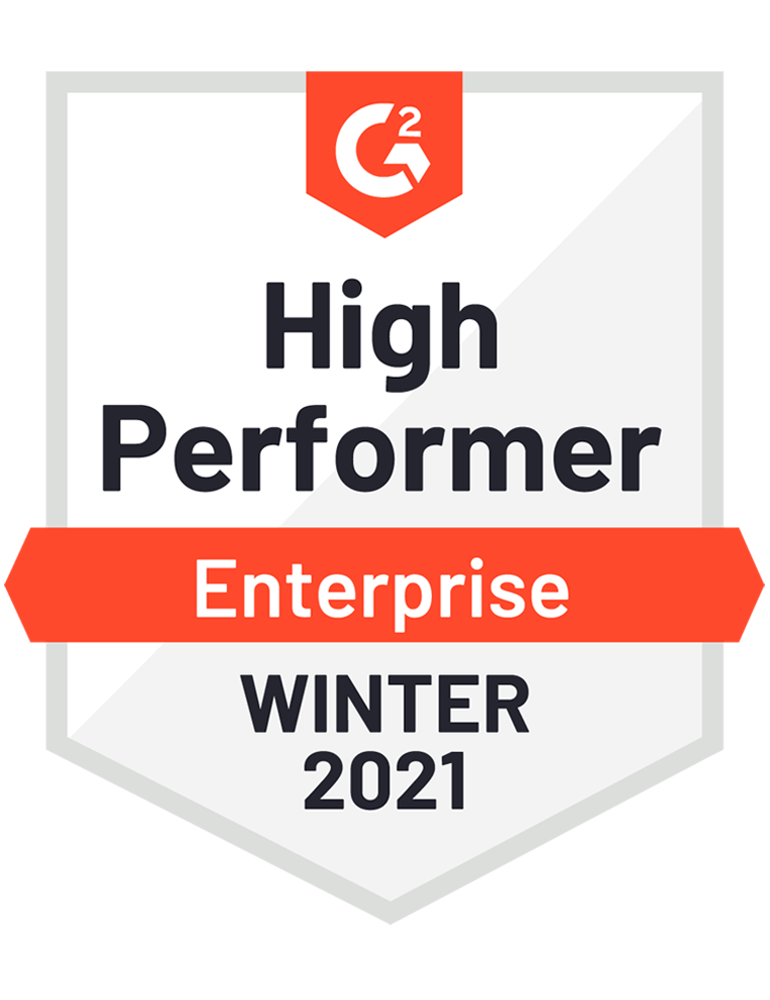 High Performer Enterprise Winter 2021