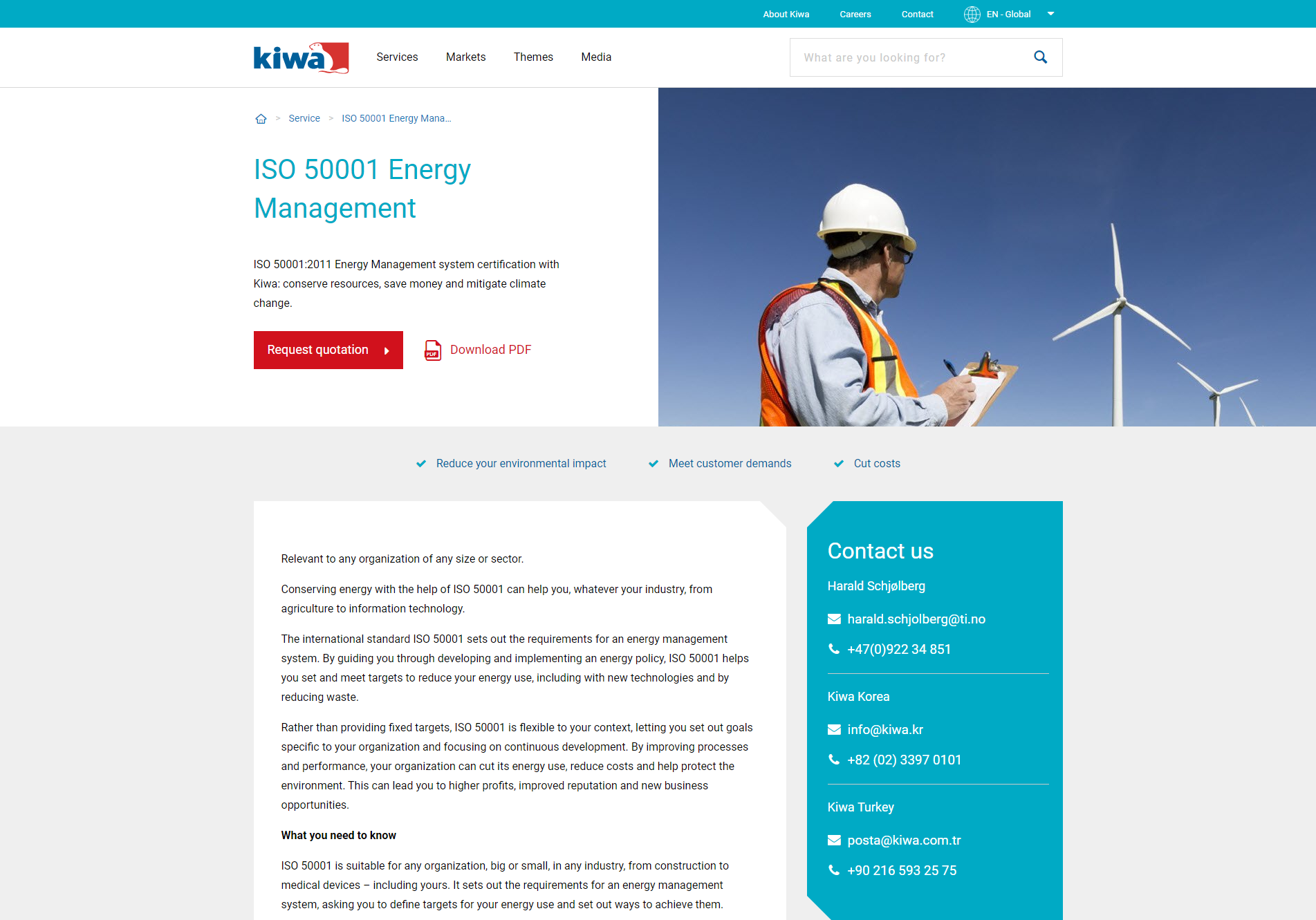 Kiwa - Product Information Management