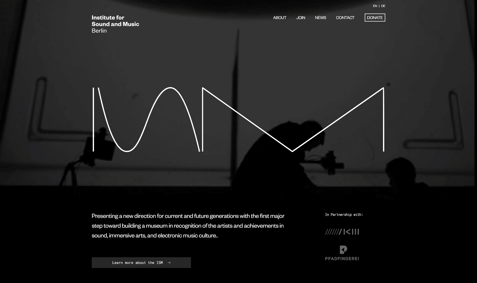 institute of sound and music berlin homepage
