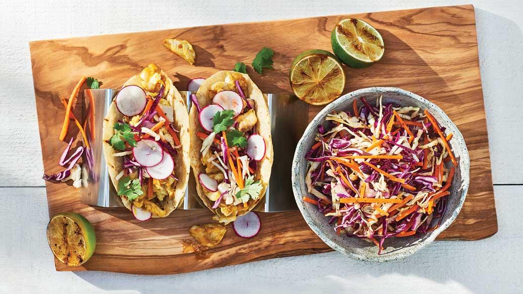 Tangy Fish Tacos
