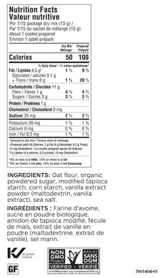 Shortbread Cookies Mix (2pk)