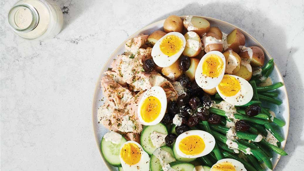 Warm Winter Niçoise Salad